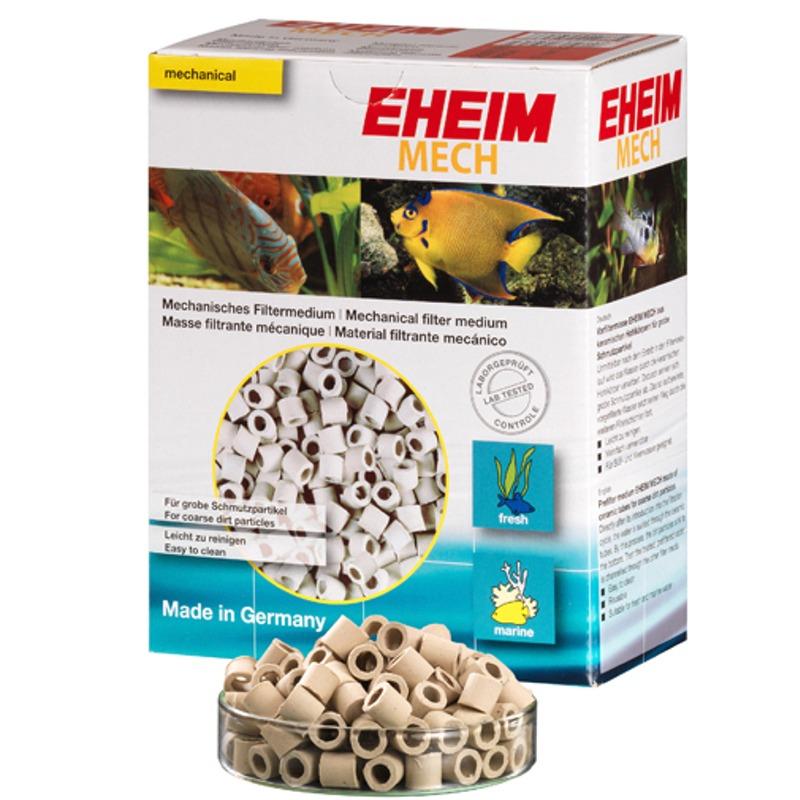 EHEIM Mech 5L réduit la quantité de matières en suspension dans le filtre