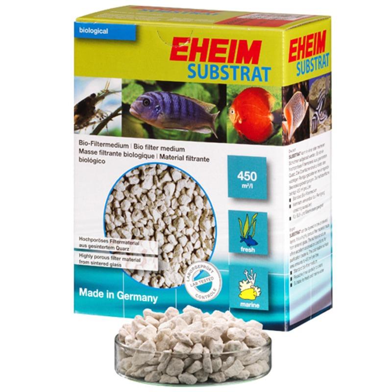 EHEIM Substrat 5L matériau de filtration biologique poreux en verre fritté