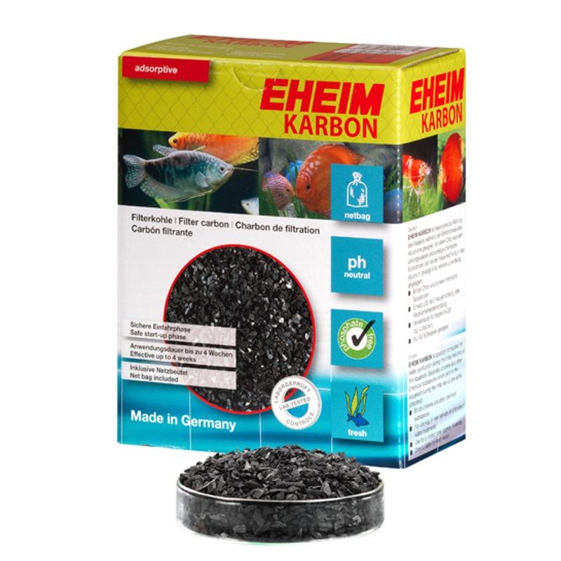 EHEIM Karbon 2L charbon actif avec filet  pour l\'élimination des substances nocives dissoutes et les résidus médicamenteux