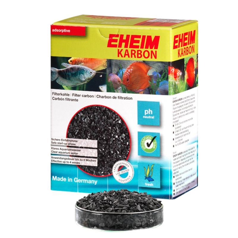 EHEIM Karbon 2L charbon actif pour l\'élimination des substances nocives dissoutes et les résidus médicamenteux