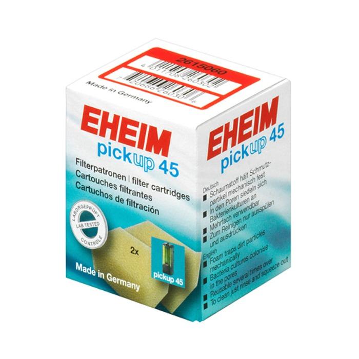 EHEIM Lot de 2 cartouches de mousse de filtration pour filtre Eheim PickUp 45 (modèle 2006)