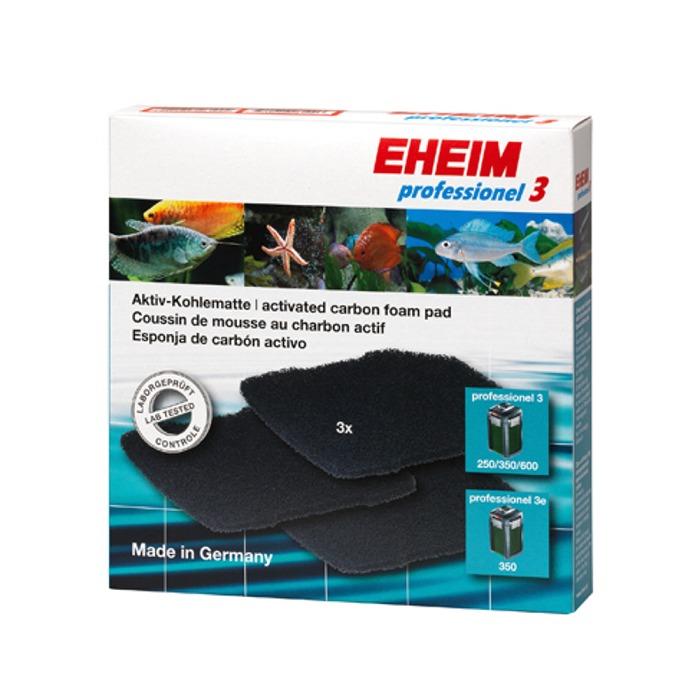 EHEIM Lot de 3 coussins au charbon actif pour filtre Eheim 2071, 2073, 2074, 2075 et 2171, 2173