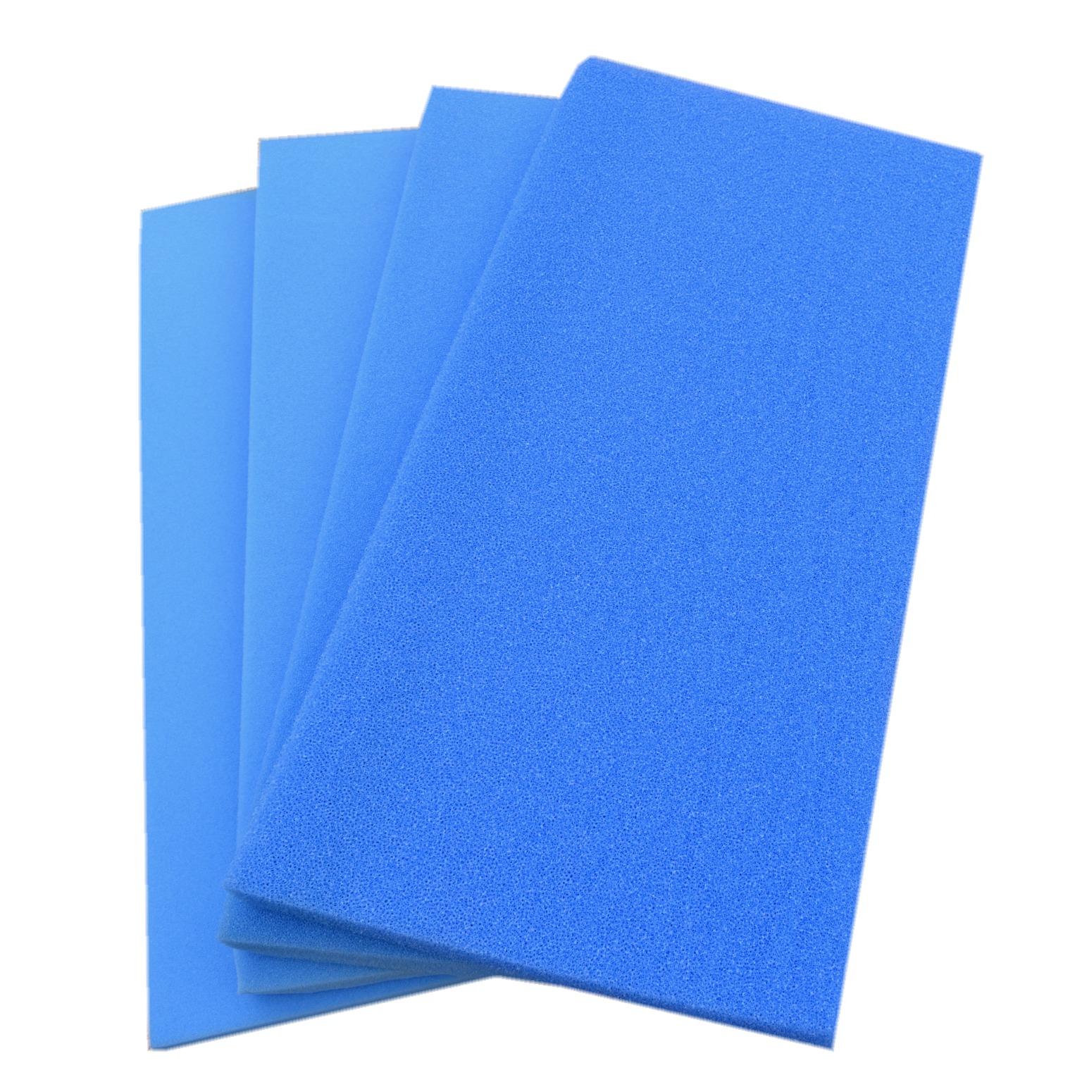 Plaque de mousse 100 x 50 x 5 cm pour filtration 4 modèles : fine, moyenne, grosse, très grosse