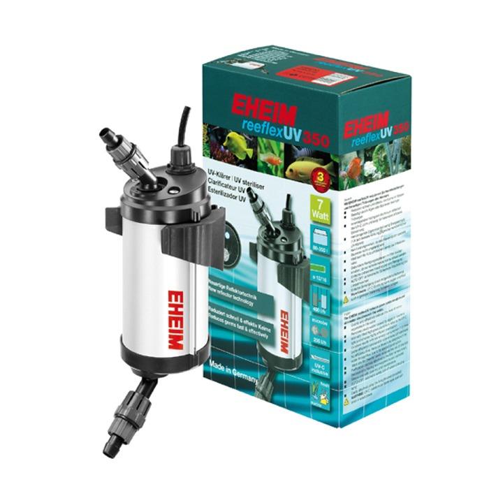EHEIM reeflexUV 350 stérilisateur UV 7W haute performance pour aquarium d\'eau douce et d\'eau de mer entre 80 et 350 litres