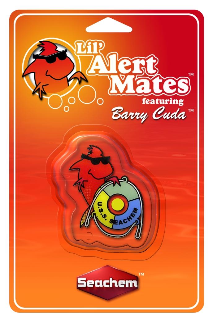 SEACHEM Lil\'Mates Barry Cuda test permanent de l\'ammoniaque destiné aux enfants pour aquarium d\'eau douce et d\'eau de mer