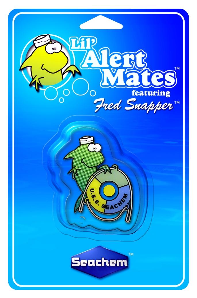 SEACHEM Lil\'Mates Fred Snapper test permanent de l\'ammoniaque destiné aux enfants pour aquarium d\'eau douce et d\'eau de mer