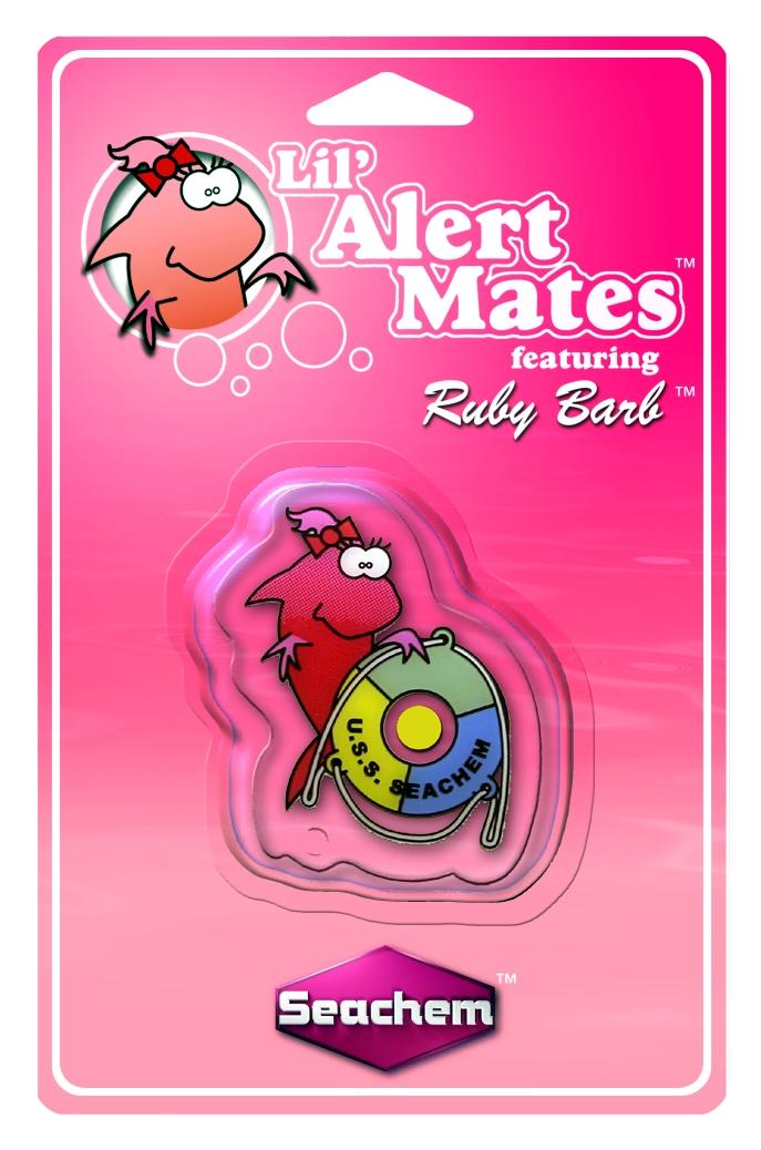 SEACHEM Lil\'Mates Ruby Barb test permanent de l\'ammoniaque destiné aux enfants pour aquarium d\'eau douce et d\'eau de mer