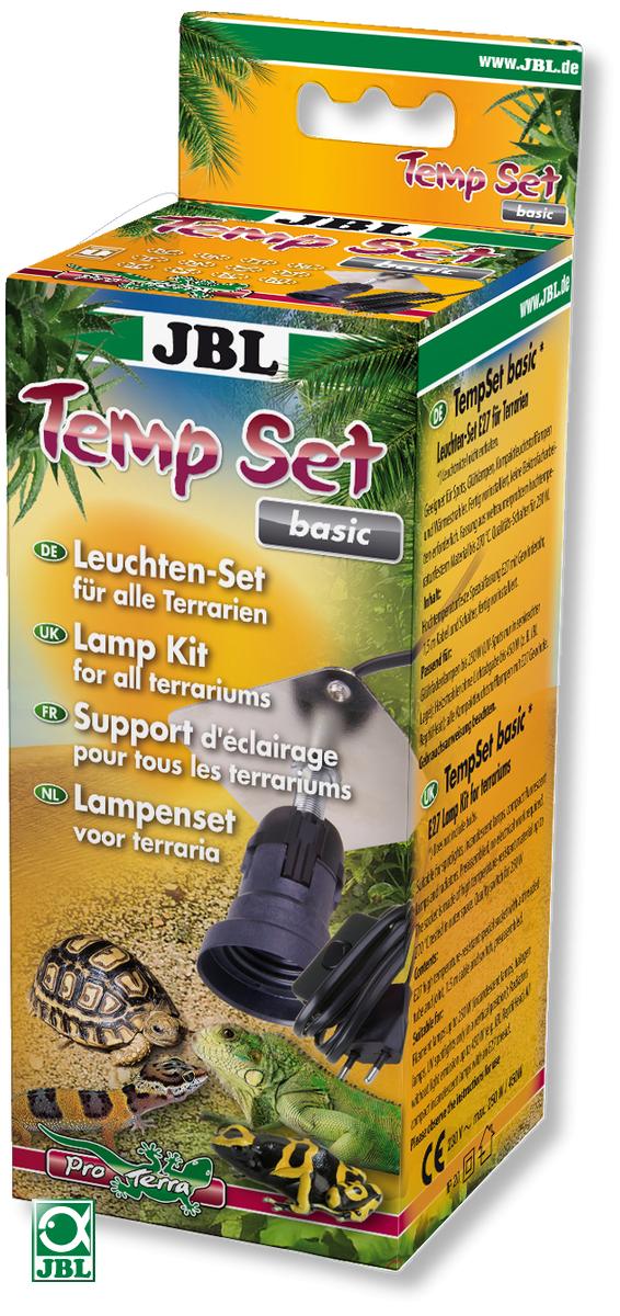 JBL Temp Set Basic douille E27 pour lampes à incandescence et spots de terrarium