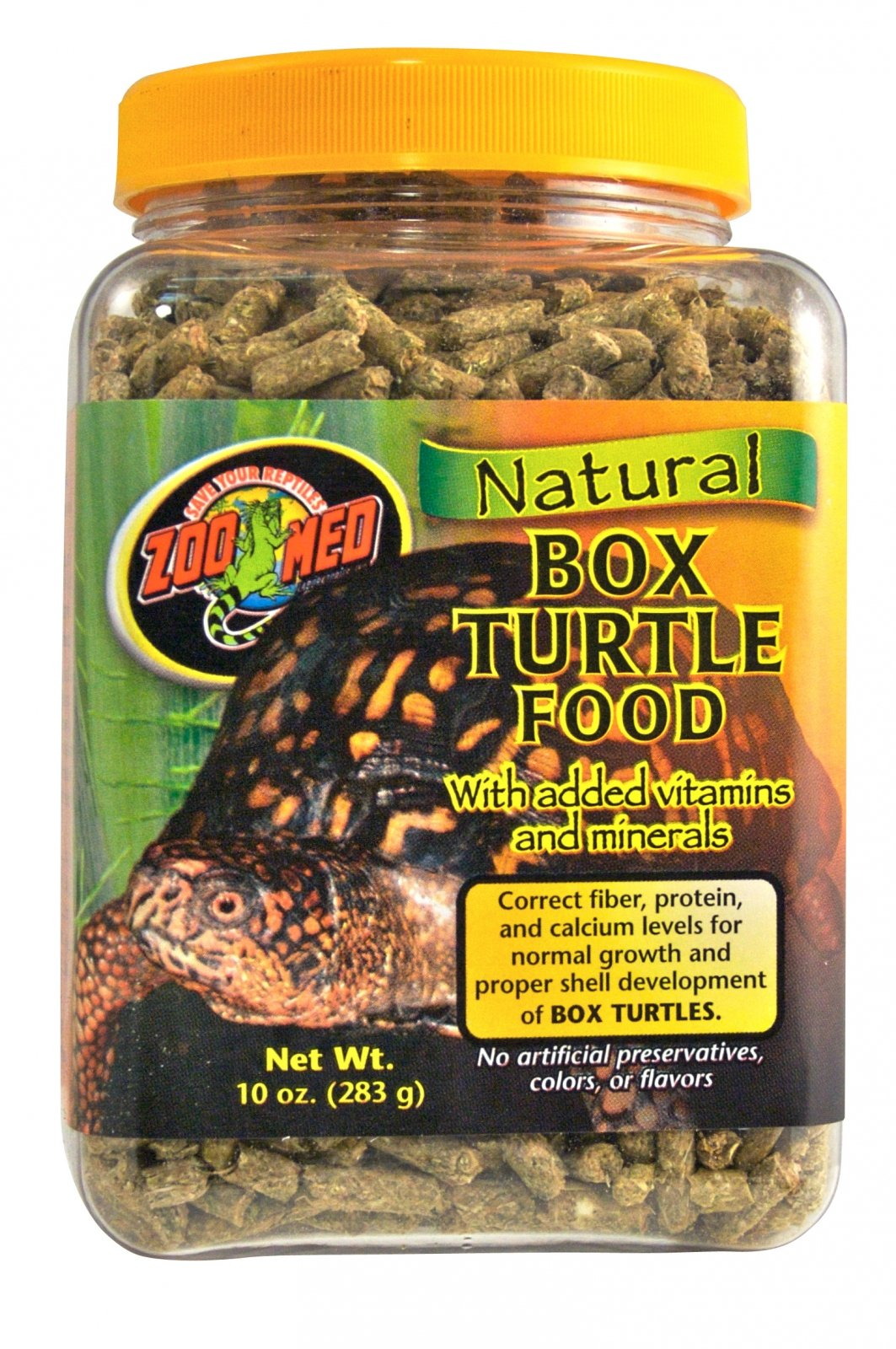 ZOOMED Natural Box Turtle 567g Nourriture Naturelle Pour
