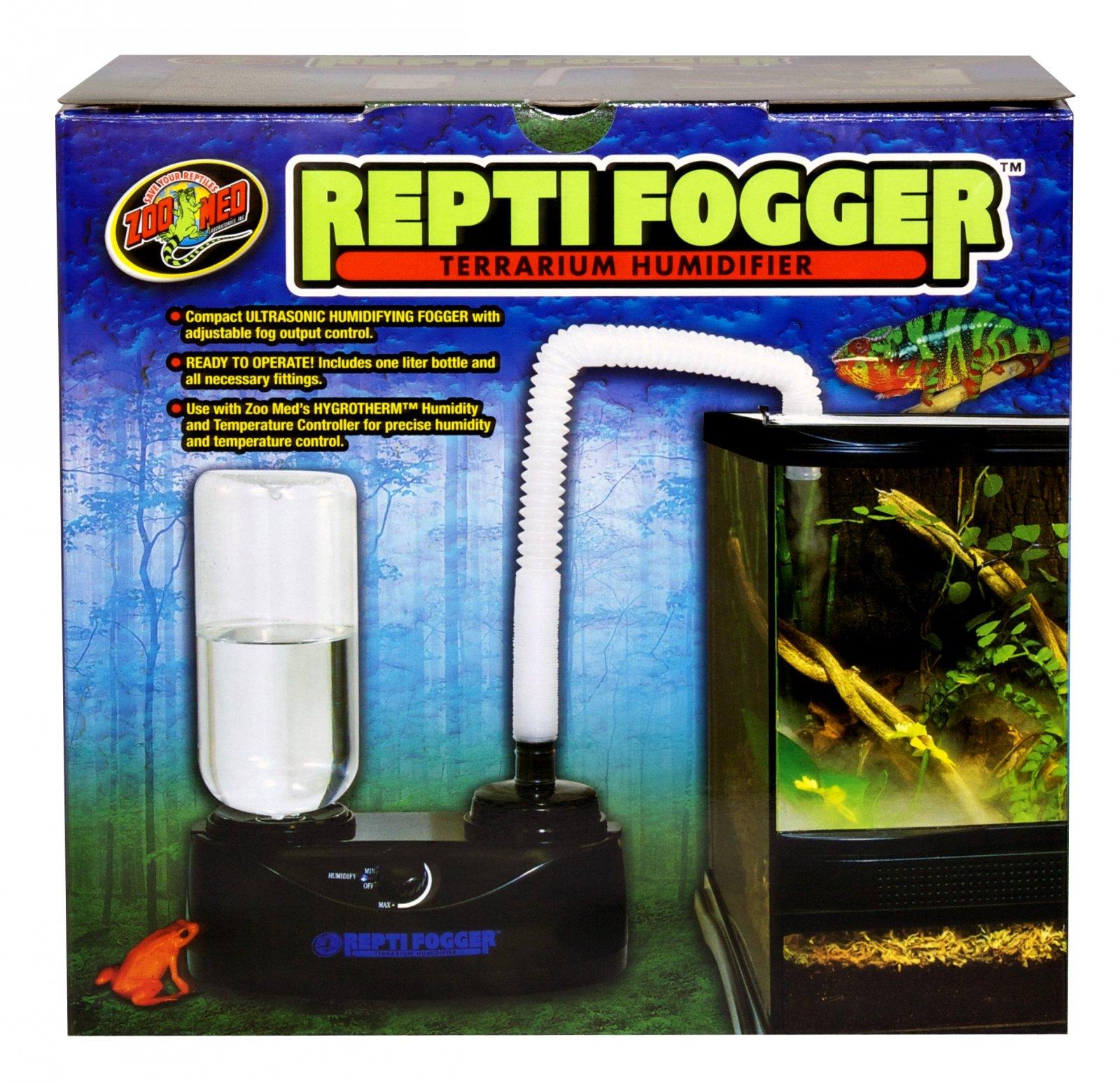ZOOMED Repti Fogger brumisateur haut de gamme pour terrarium tropicale