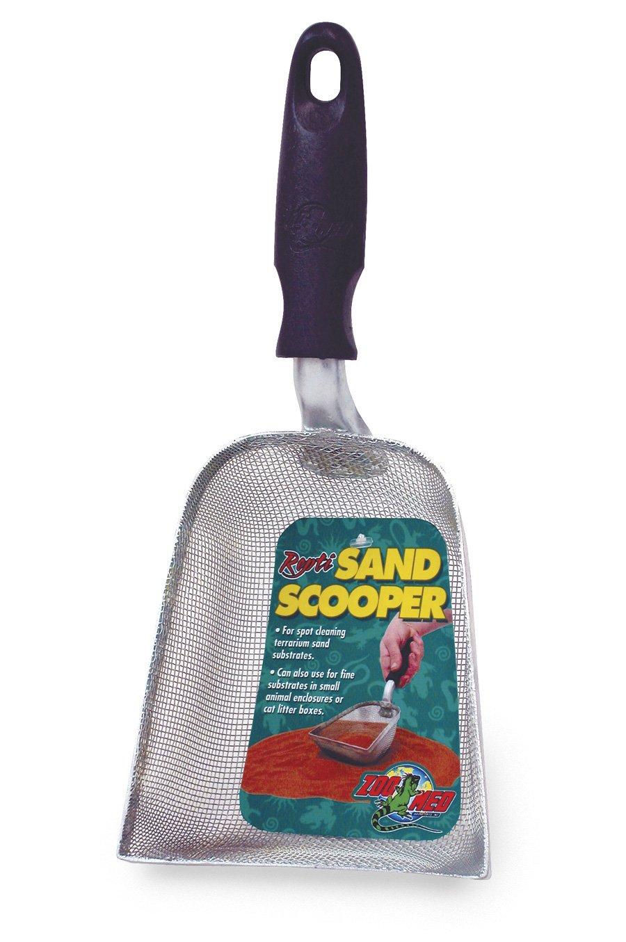 ZOOMED Repti Sand Scooper pelle à sable pour le nettoyage des substrats de sable de terrariums