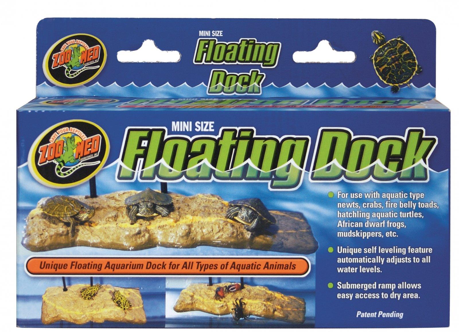 ZOOMED Floating Dock Large terrasse flottante 45 x 23 cm pour tortues d\'eau