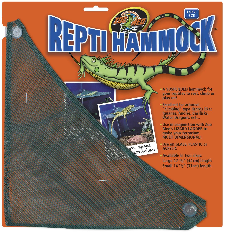 ZOOMED Repti Hammock 36cm hammac d\'angle pour lezards