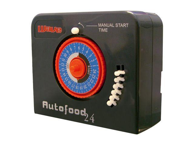 WAVE AutoFood 24 distributeur automatique de nourriture jusqu\'à 6 nourissages par jour