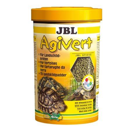 JBL Agivert 1 L nourriture en bâtonnets entièrement végétales pour tortues terrestres