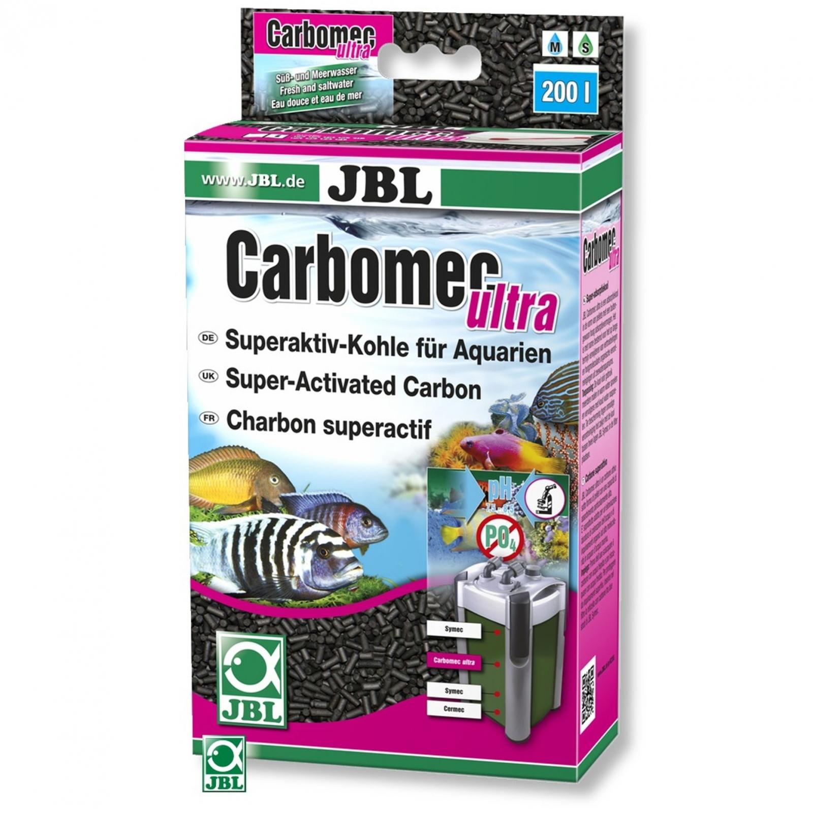 JBL Carbomec ultra charbon super actif en boulettes pour eau de mer