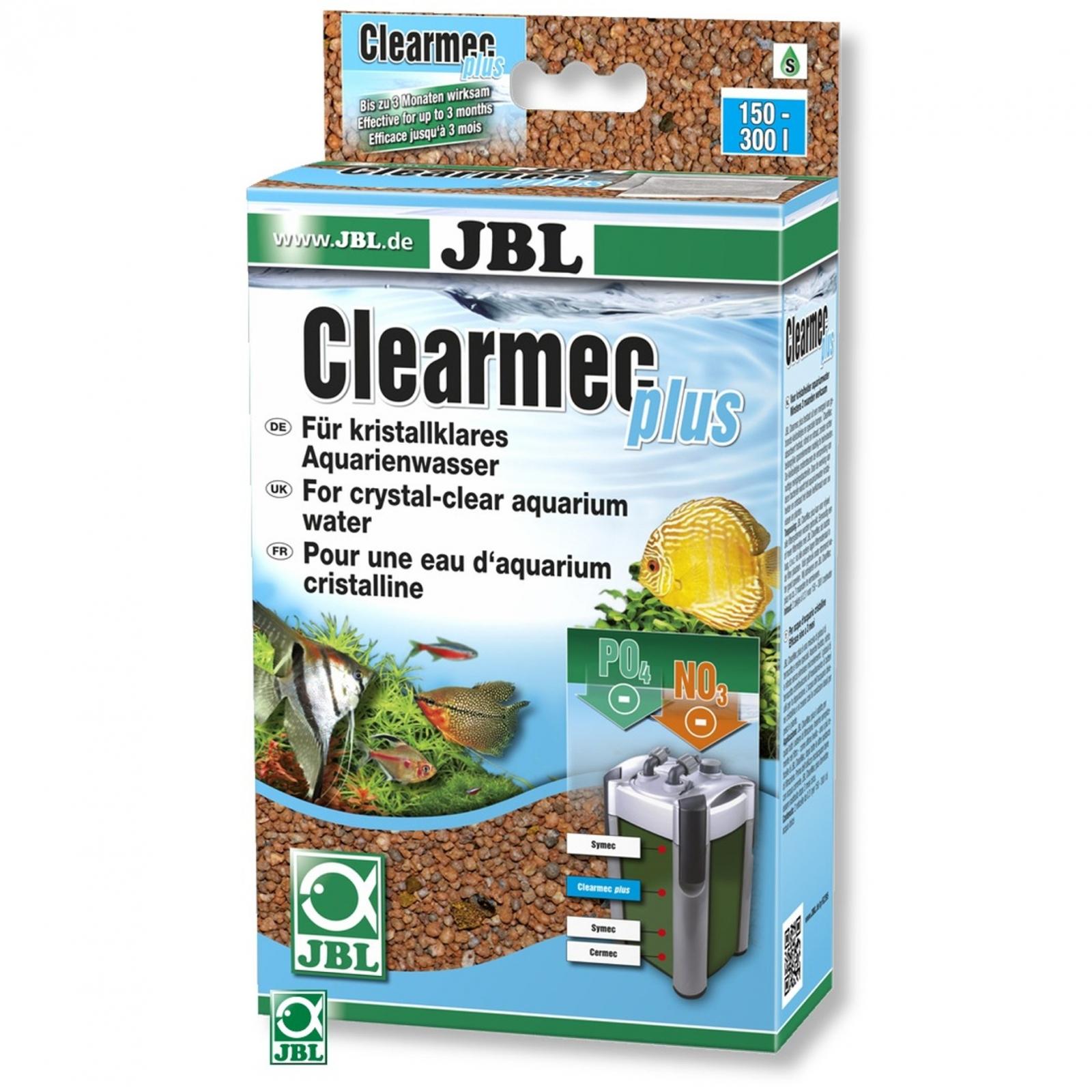 JBL Clearmec plus 1 L masse filtrante pour l\'élimination du nitrite, du nitrate et du phosphate