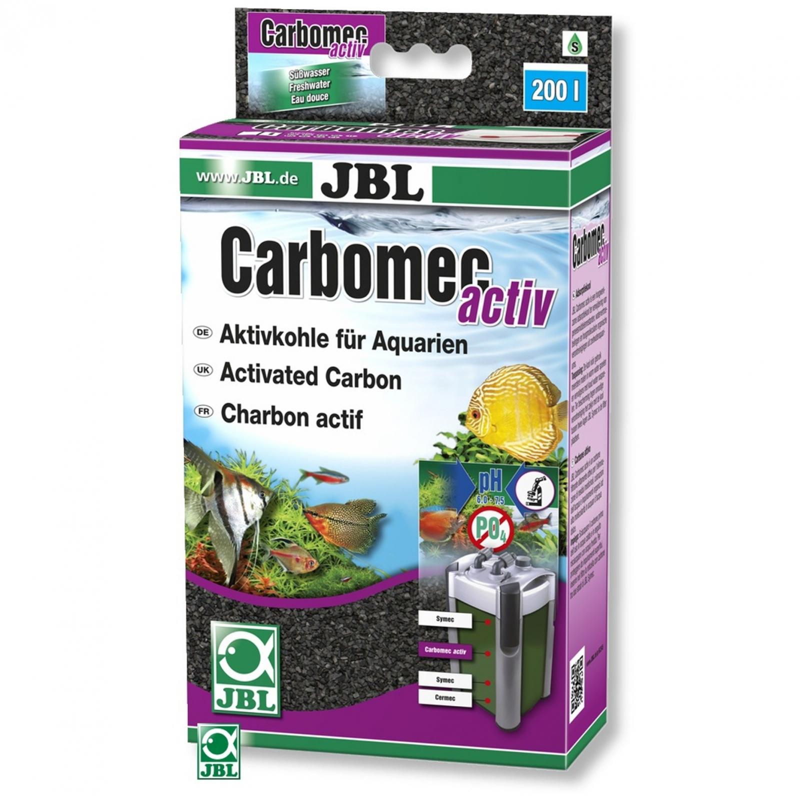 JBL Carbomec activ charbon actif très performant pour eau douce