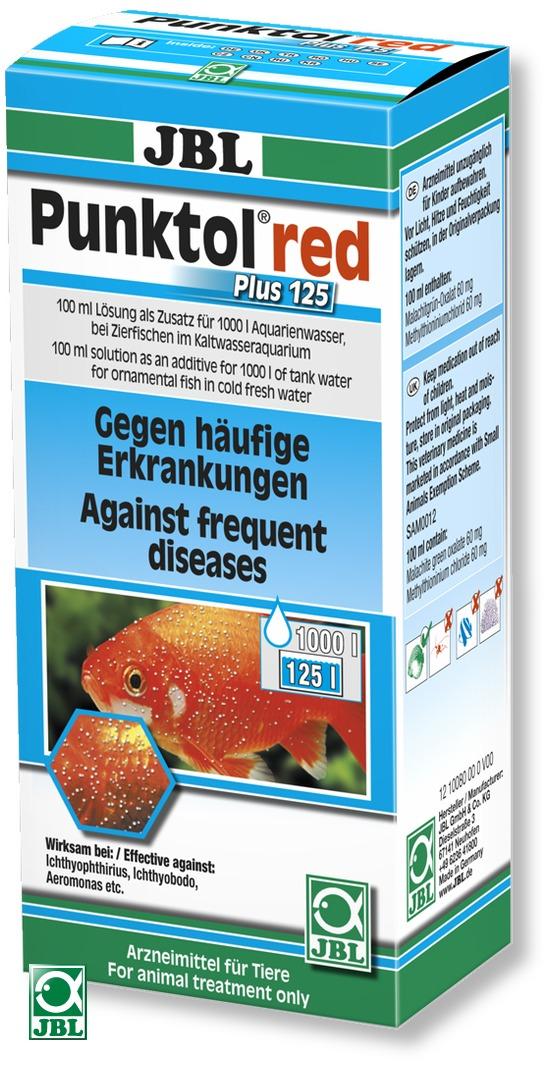 jbl punktol red plus 125 contre la maladie des points blancs chez les poissons rouges traite. Black Bedroom Furniture Sets. Home Design Ideas