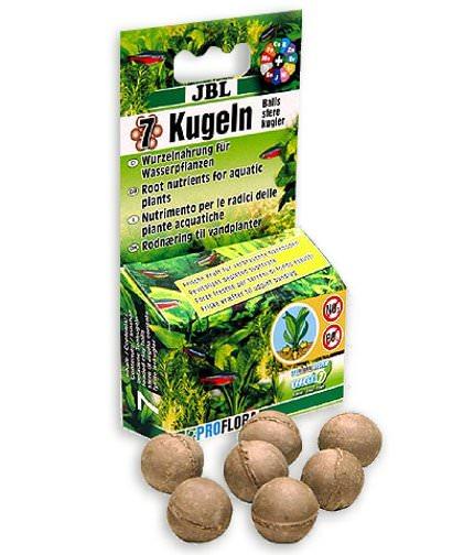 Jbl 7 boulettes fertilisantes pour les racines des plantes for Aquariophilie en ligne