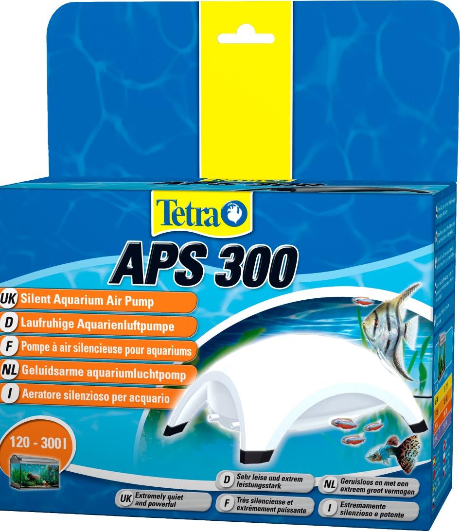 TETRA APS 300 Blanche pompe à air 2 x 150L/h puissante et silencieuse pour aquarium de 120 à 300L