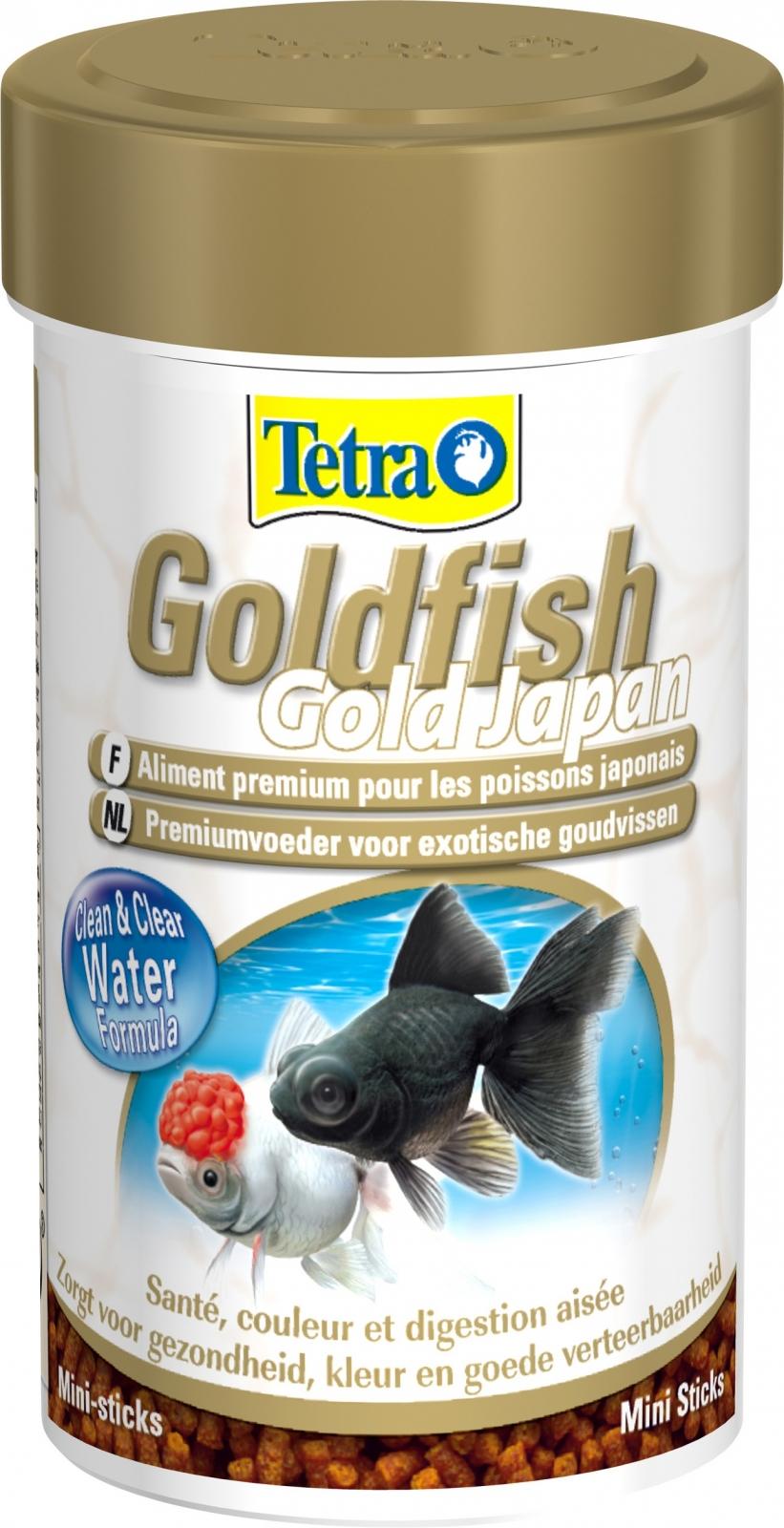 Tetra goldfish gold japan 100 ml aliment complet en for Poisson japonais nourriture