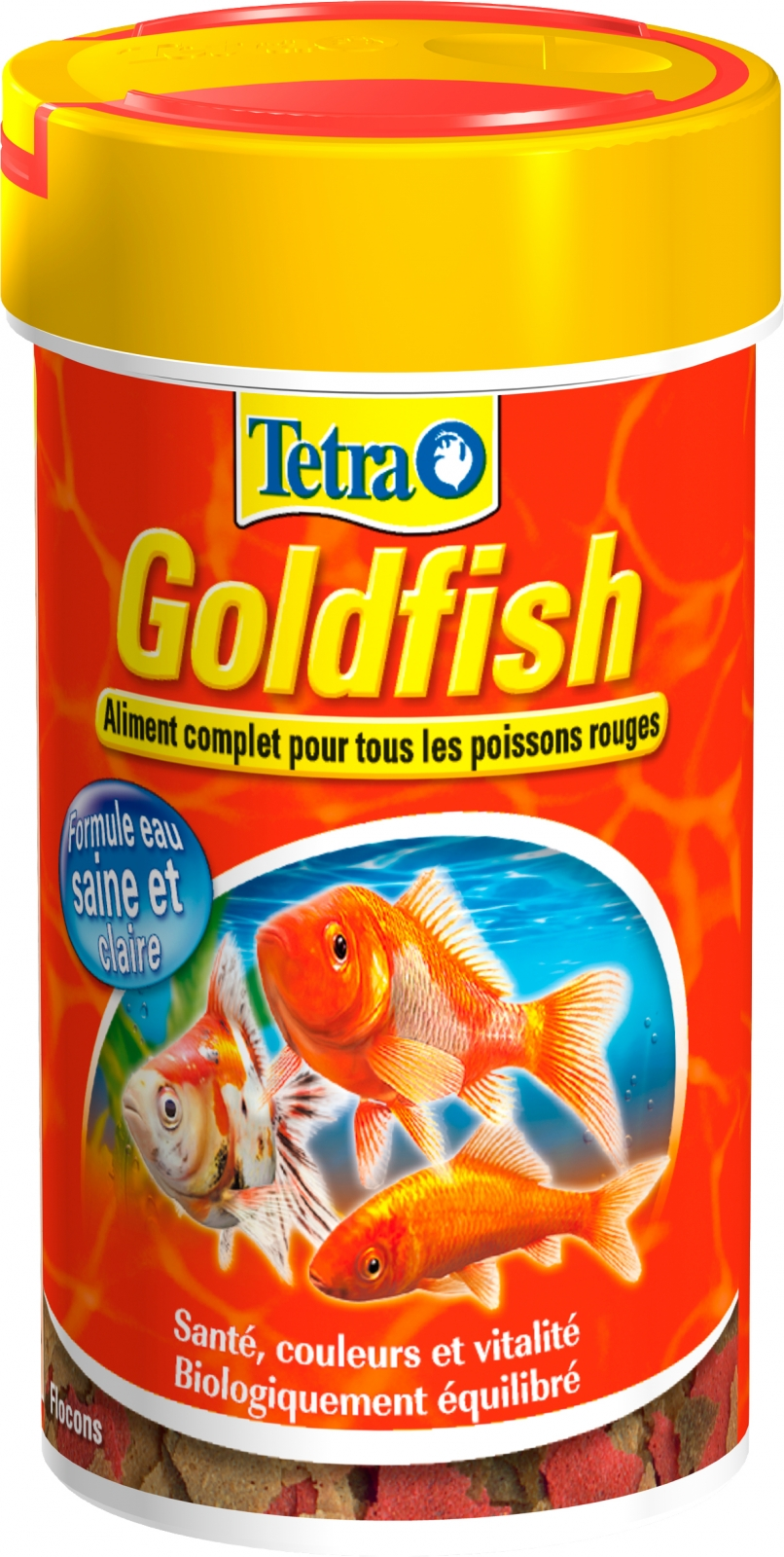 Tetra goldfish 100 ml aliment complet en flocons de grande for Goldfish nourriture