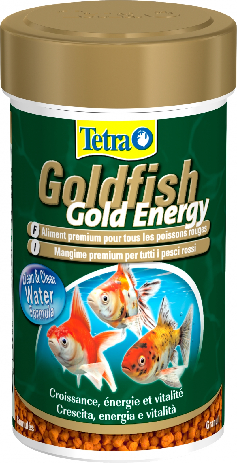 Tetra goldfish energie 100 ml aliment sous forme de sticks for Goldfish nourriture