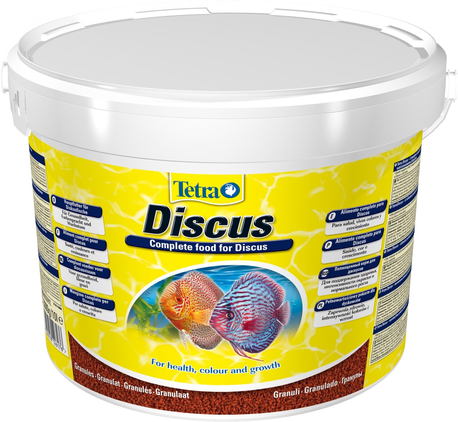TETRA Discus 10L aliment complet pour les Discus et autres grands poissons d\'ornement