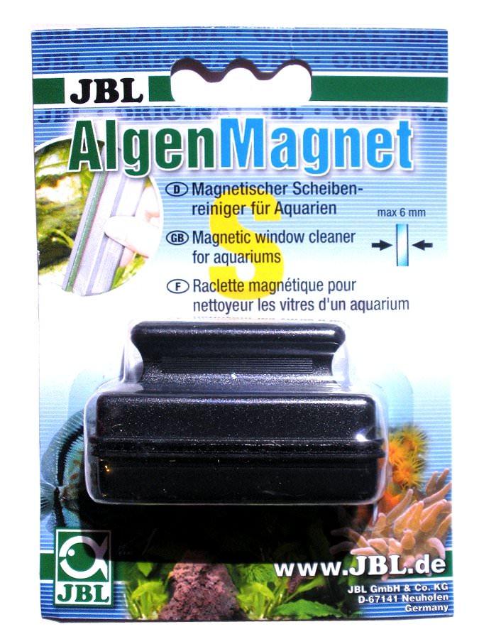 JBL AlgenMagnet S nettoyeur de vitre aimanté pour l\'élimination des algues 6 mm