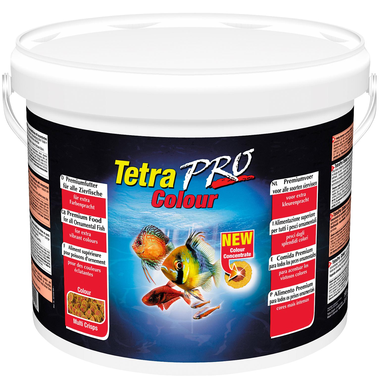 TETRA Pro Colour 10L aliment en chips de qualité supérieure réhaussant les couleurs des poissons d\'ornement