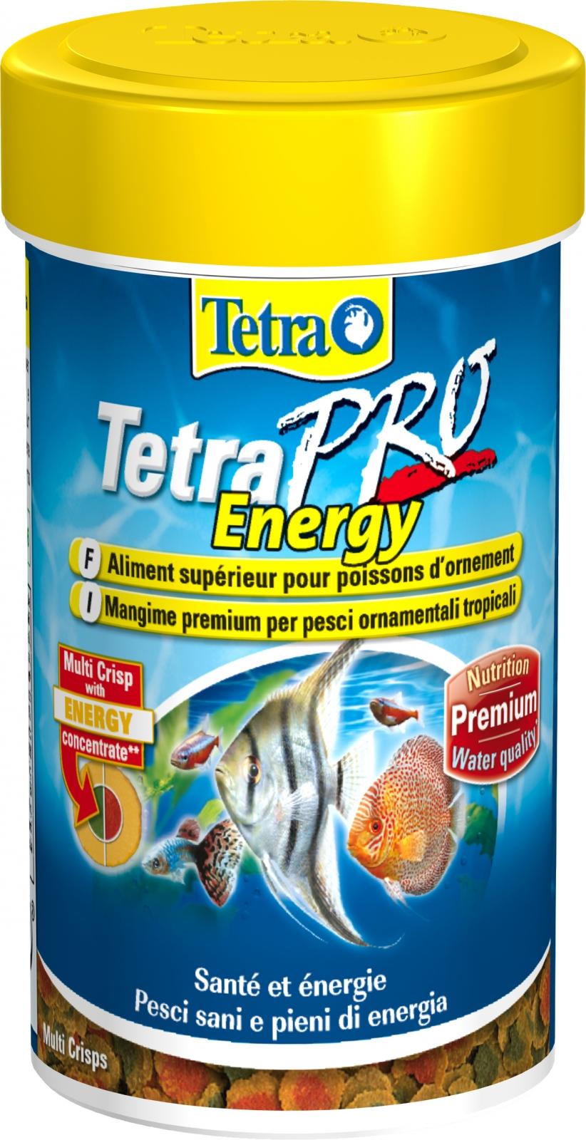 TETRA Pro Energy 100 ml aliment en chips de qualité supérieure pour poissons d\'ornement