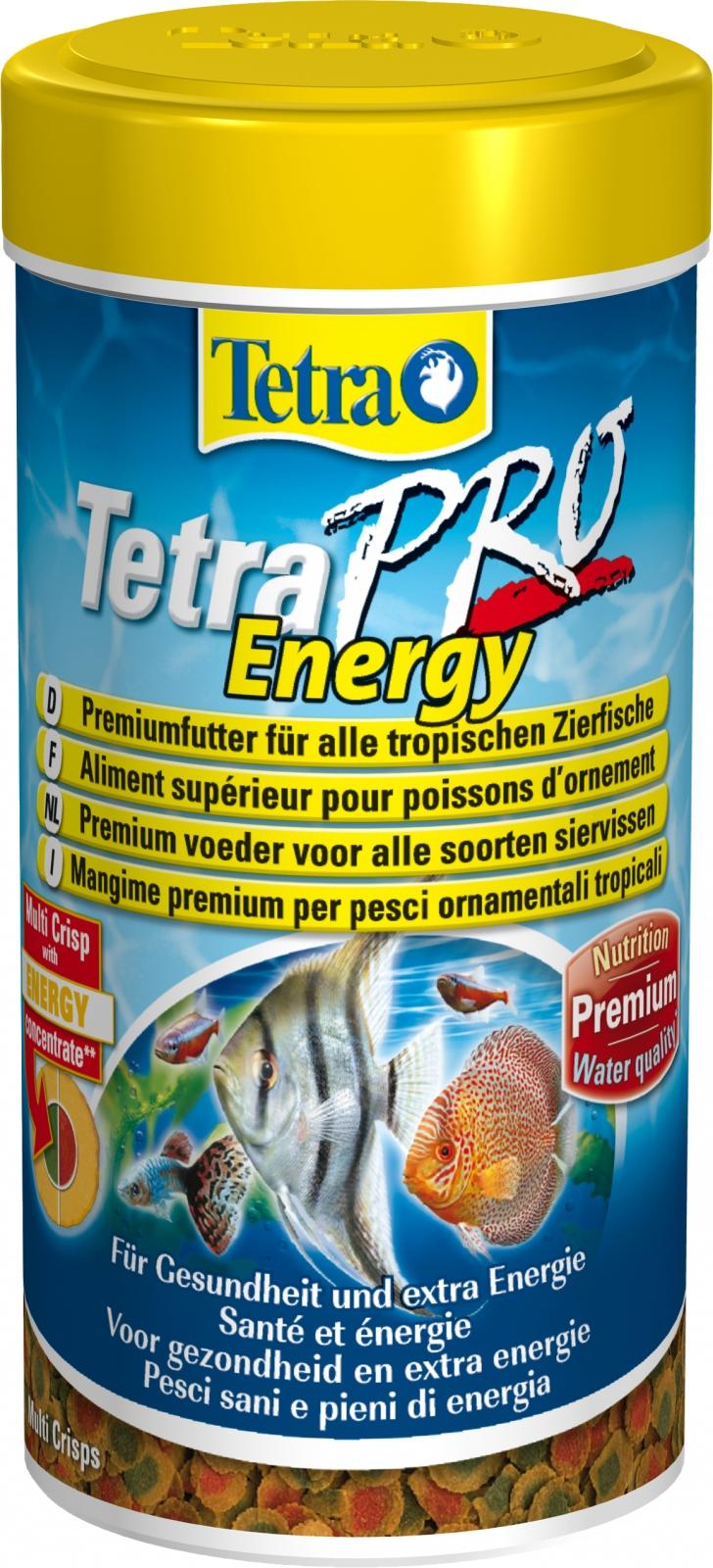 TETRA Pro Energy 250 ml aliment en chips de qualité supérieure pour poissons d\'ornement