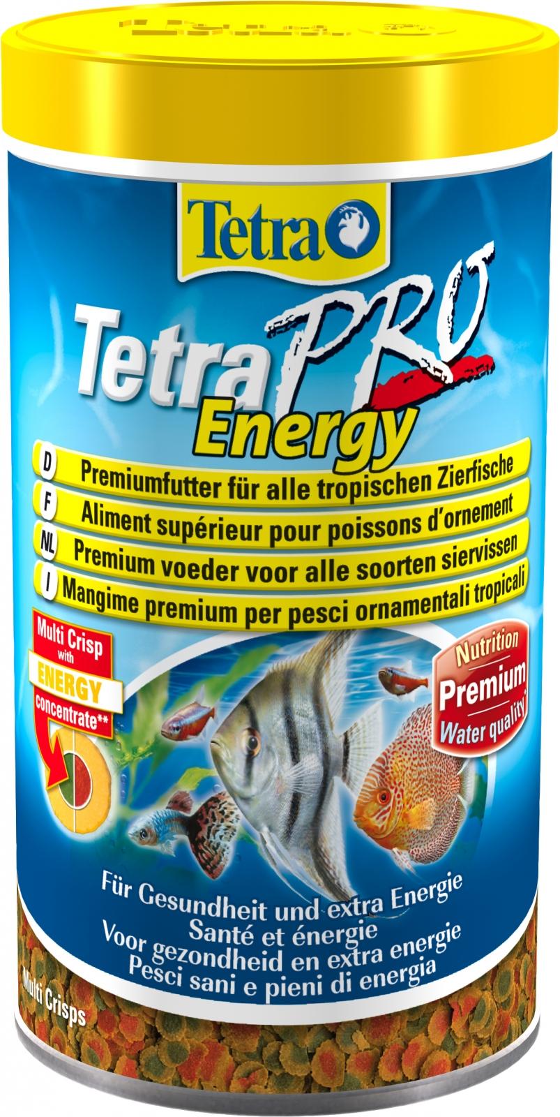TETRA Pro Energy 500 ml aliment en chips de qualité supérieure pour poissons d\'ornement