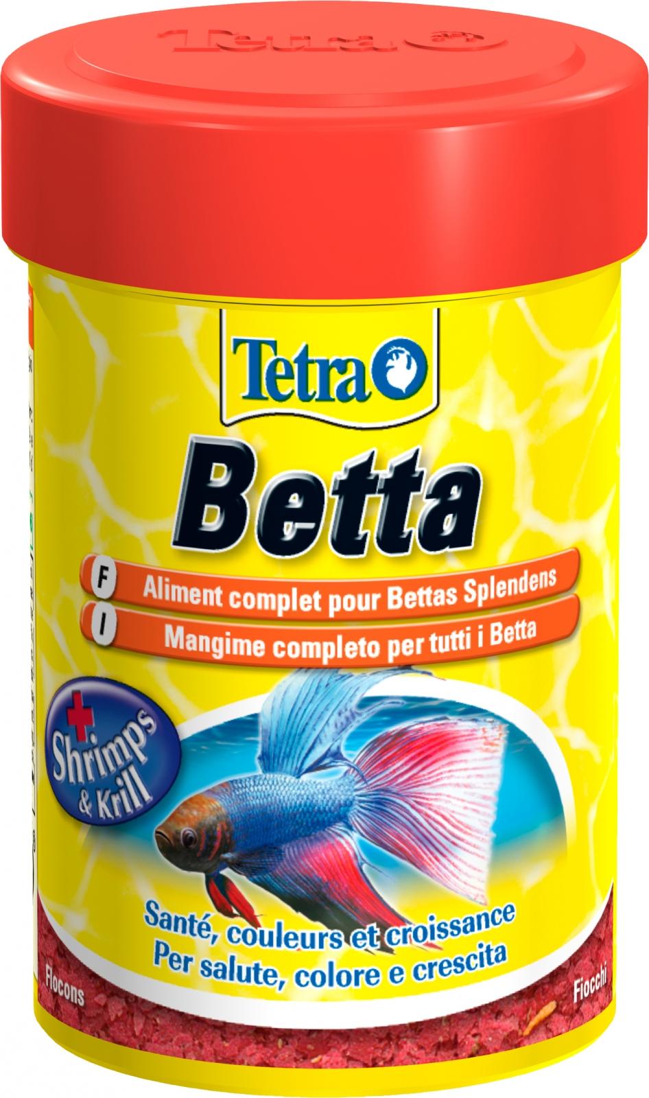 TETRA Betta 85 ml aliment complet en flocons pour Betta splendens