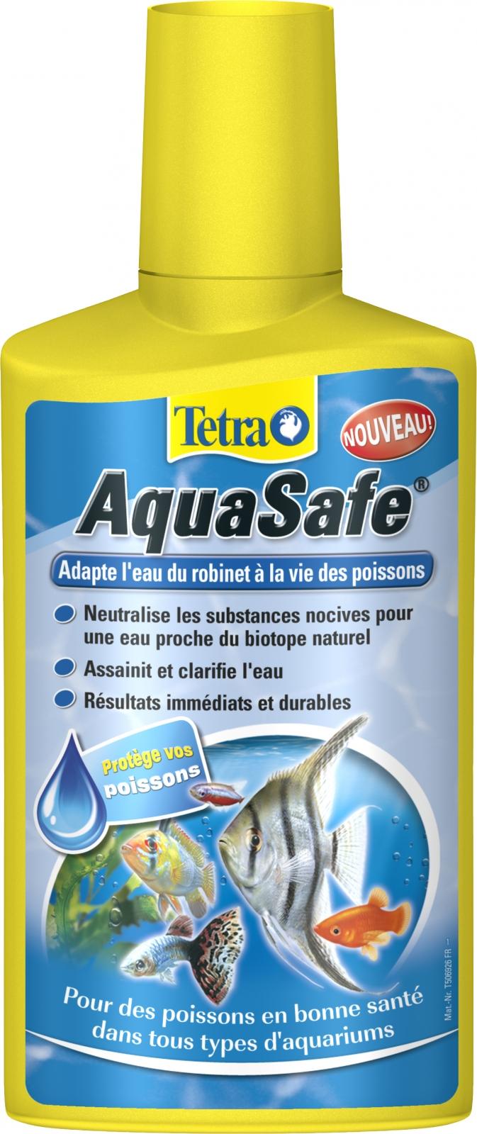 Tetra aquasafe 250 ml transforme instantan ment l 39 eau du - Combien coute 1 litre d eau du robinet ...