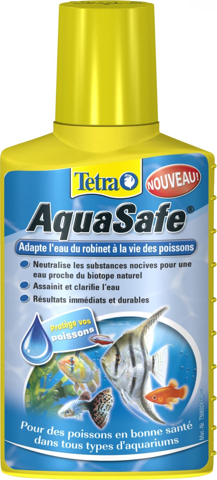 Tetra aquasafe 100 ml transforme instantan ment l 39 eau du - Combien coute 1 litre d eau du robinet ...