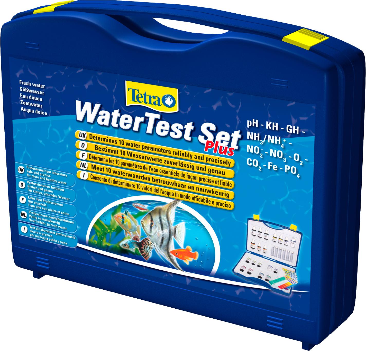 TETRA Water Test Set Plus malette de test professionnel pour la mesure précises de 6 paramètres importants de votre eau