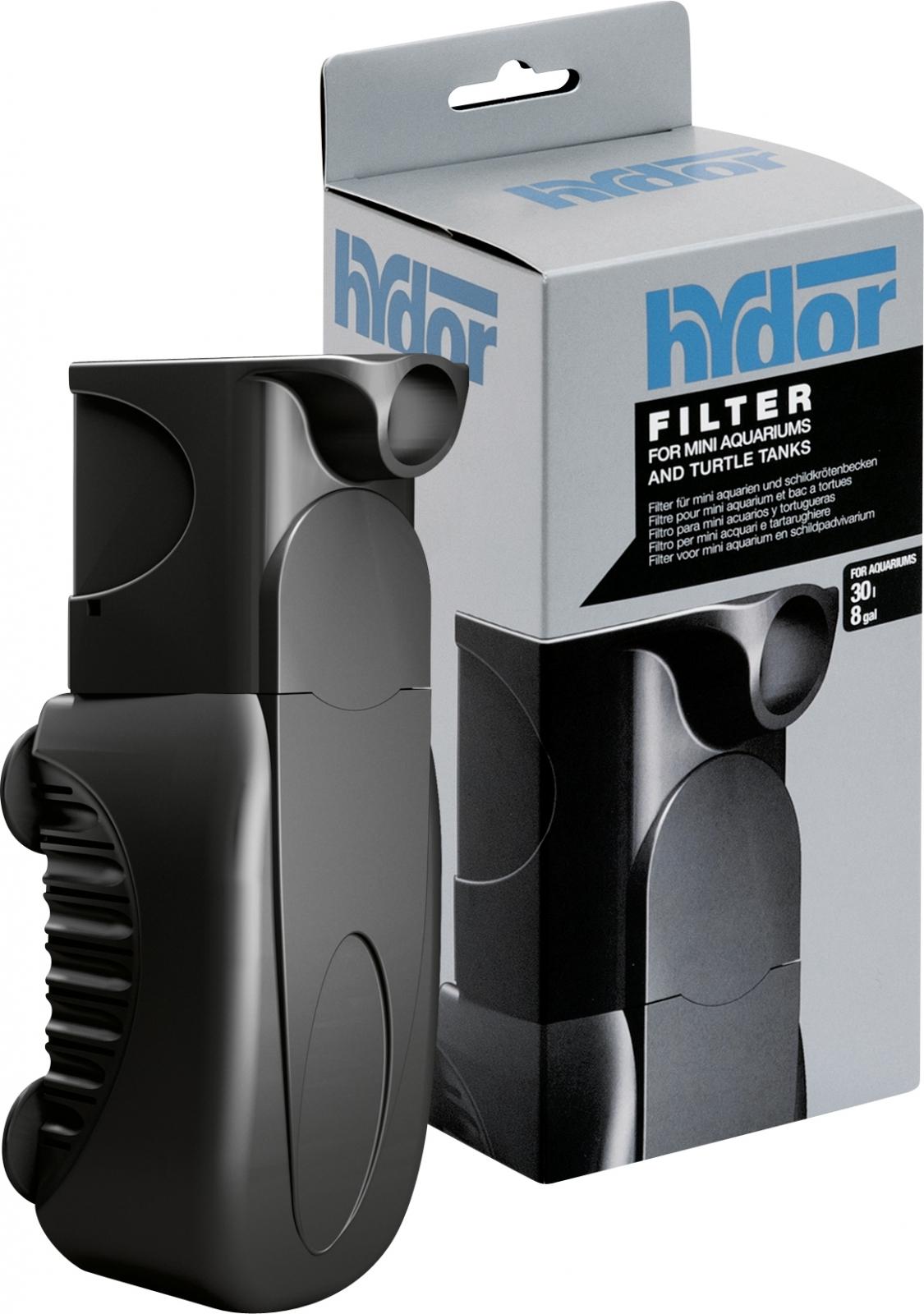 Filtre interne HYDOR Pico 30 avec pompe puissante pour filtrer et recréer des cascades en aquaterrarium