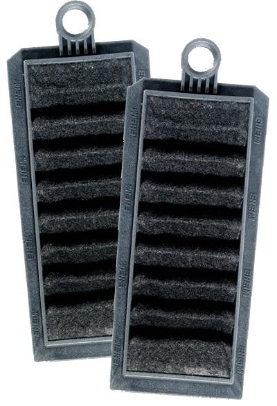 Lot de 2 cartouches filtrantes EHEIM 2628401 au charbon actif pour filtres suspendus Eheim Liberty 75, 130 et 200