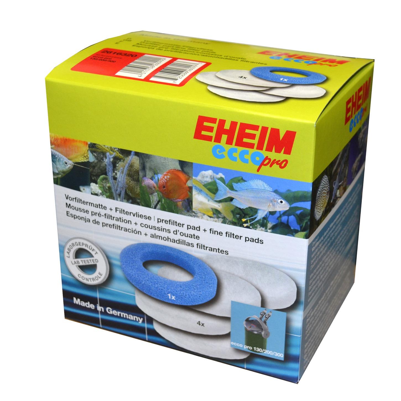 EHEIM Lot de mousse filtrante 1 bleu + 4 blanches pour filtre Ecco pro 2032, 2034, 2036