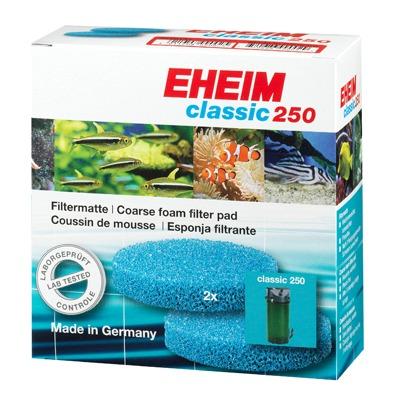 EHEIM  2 coussins de mousse bleu filtrante pour filtre Classic 2213
