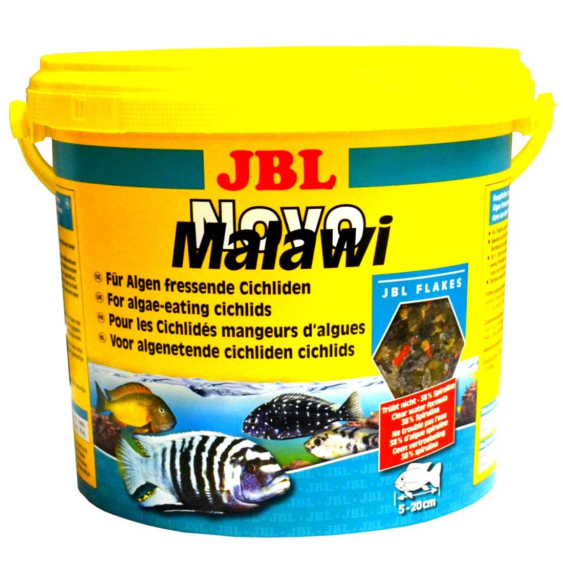 JBL NovoMalawi 5,5 L pour cichlidés rongeurs d\'algues des lacs Malawi / Tanganyika