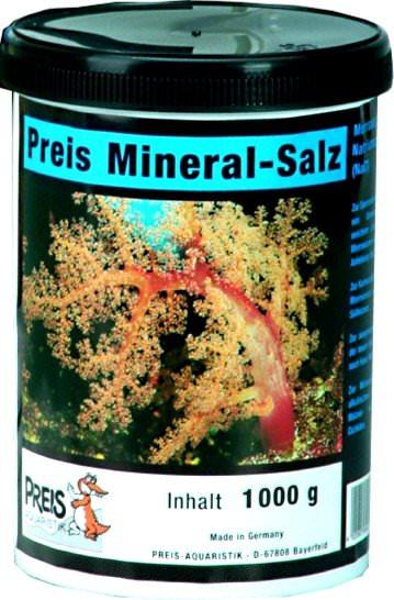 PREIS Sel minéral 1 kg pour la préparation de l\'eau osmosée en récifal, Malawi et Tanganyika