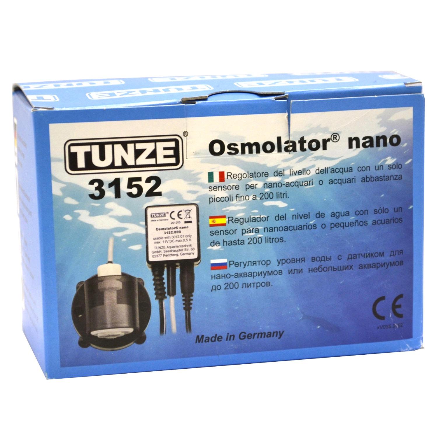 TUNZE Osmolator Nano 3152 régulateur de niveau d\'eau à un capteur pour aquarium jusqu\'à 200L