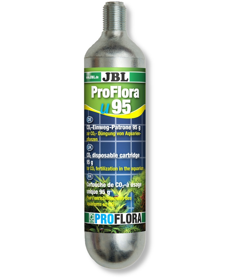 JBL ProFlora u95 bouteille CO2 95gr. à usage unique pour kit CO2 JBL ProFlora u201