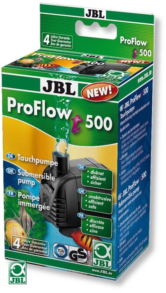 JBL ProFlow t500 petite pompe universelle avec débit réglable 200 à 500 L/h pour aquarium d\'eau et d\'eau de mer