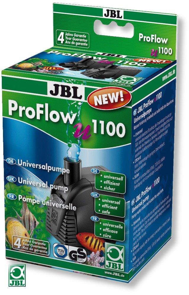 JBL ProFlow u1100 pompe universelle avec débit fixe de 1200 L/h pour aquarium d\'eau et d\'eau de mer