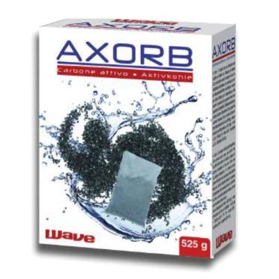 AMTRA aXorb 525 gr. charbon actif de qualité sup. Purifie l\'eau en absorbant les agents polluants et résidus médicamenteux