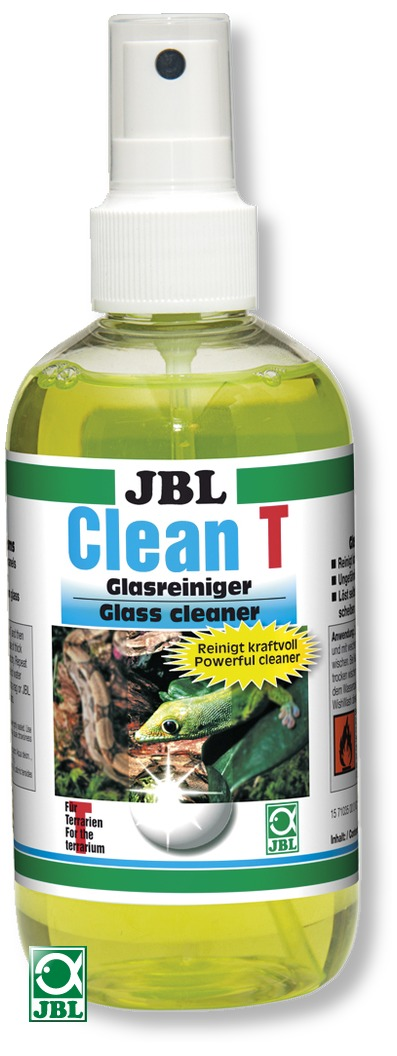JBL Clean T nettoyant pour les vitres de votre terrarium sans danger pour les animaux